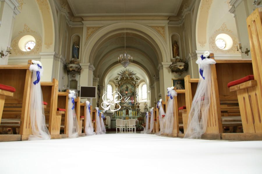 Dekoracja kościoła1
