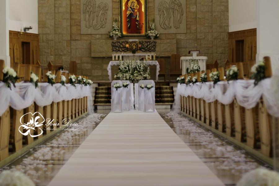 Dekoracja kościoła2